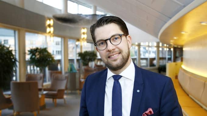 Jimmie Åkesson. Foto: Patrik C Österberg