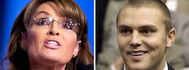 Palins son häktad för  misshandel och inbrott