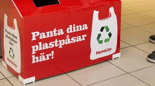 På svenska Hemköp har systemet funnits i ett år. Nu följer danskarna efter. Foto: STEFAN NILSSON