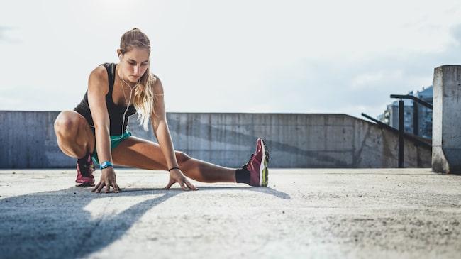 """""""Stretcha ska man göra om man håller på med någon sport eller aktivitet som kräver god rörlighet"""", säger naprapaten Jessica Lyander."""