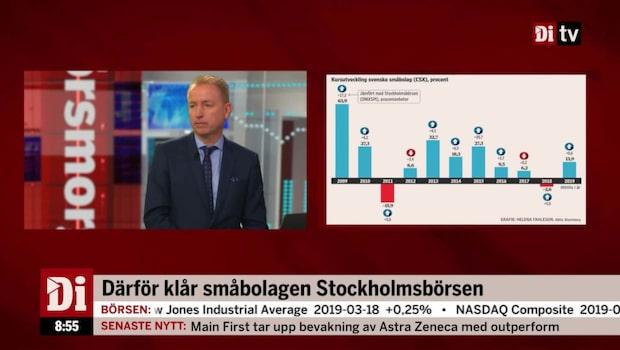 Därför klår småbolagen Stockholmsbörsen