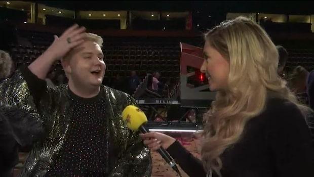 Fab Freddie berättar om kvällen och sin nya frisyr