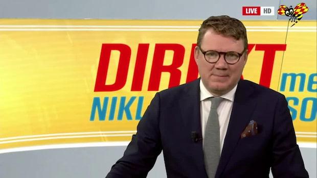 Direkt med Niklas Svensson – se hela programmet 21/10 2019