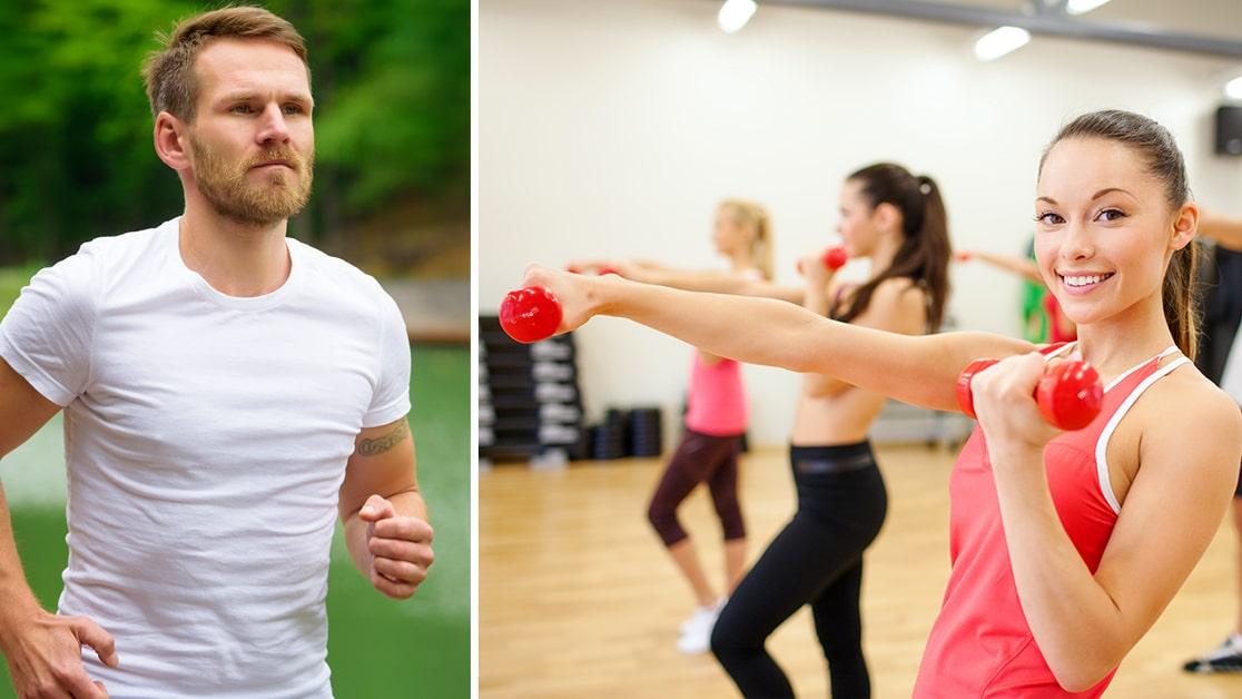 vad gör träning för kroppen