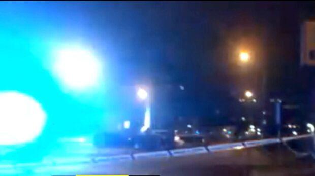 En man sköts i en bil i Malmö