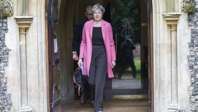 Storbritanniens premiärminister Theresa May. Foto: KGC-107 / STELLA PICTURES 134895-5