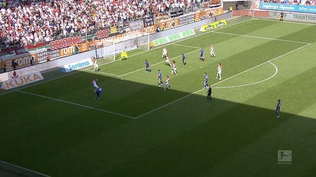 Höjdpunkter: Augsburg-Schalke