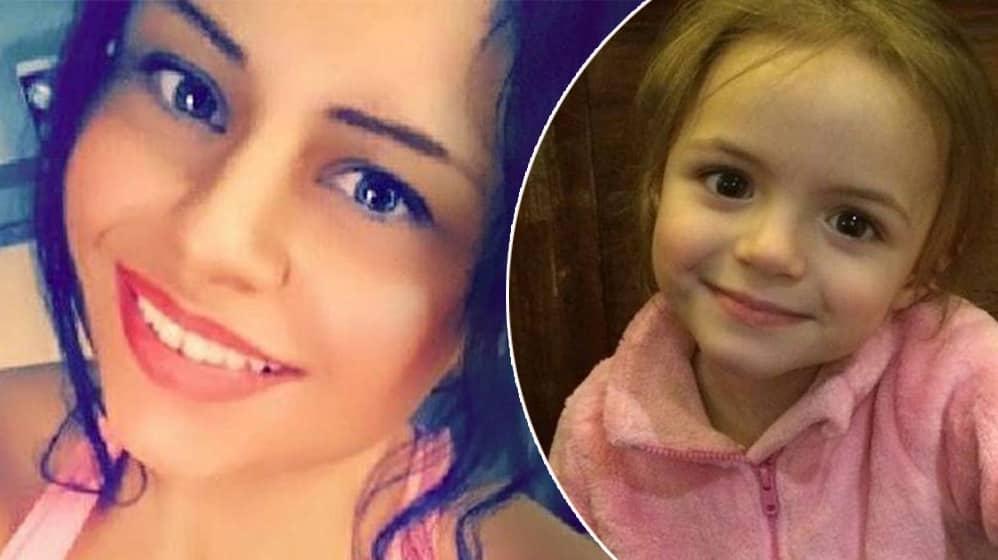 Carly Anna dränkte dottern Amelia, 4, och tände eld på henne