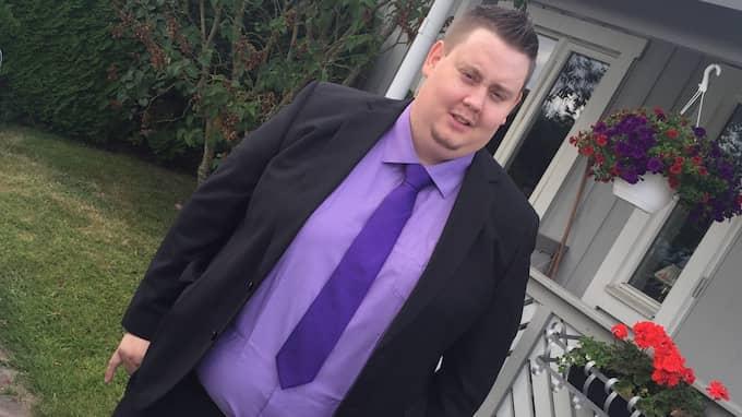Eric vägde som mest 159 kilo. Foto: PRIVAT