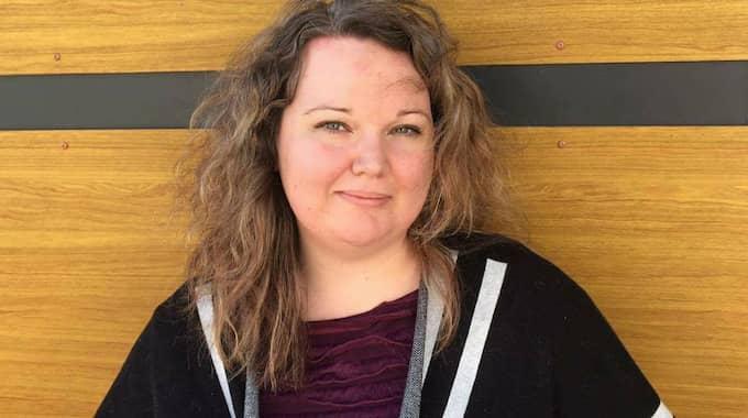 Therese Boström, styrelseledamot LIBRA i Skåne, en brukarförening för personer med affektiva sjukdomar. Foto: / PRESSBILD
