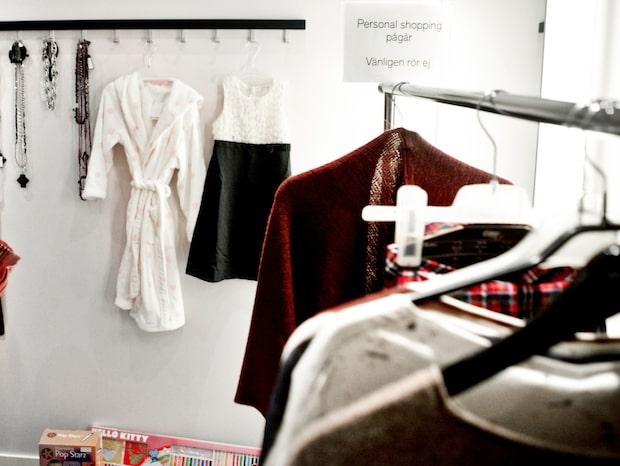Butiker fick nog - införde klädprovningsavgift
