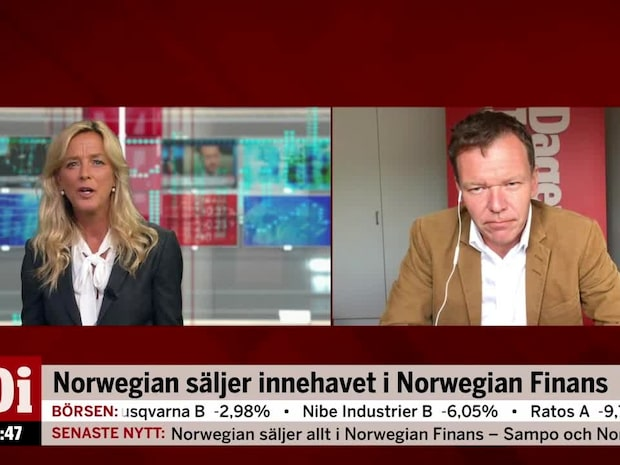 """Petersson om Norwegianaffären: """"Fortsätter göra finansaffärer ihop"""""""