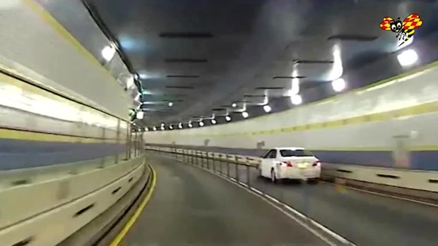 Skräckmötet i tunneln