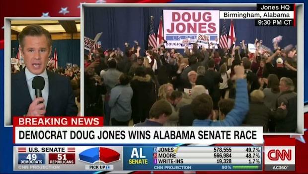 Förlust för republikanerna i Alabama