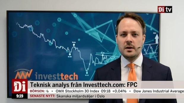 "Investtechs aktietips: ""I en stigande trendkanal"""