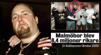 Förre Hells Angels-ledaren Thomas Möller riskerar en miljonsmäll.