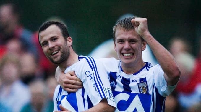 Hjalmar Jonsson och Pontus Wernbloom 2007. Foto: ANDREAS HILLERGREN / BILDBYRÅN