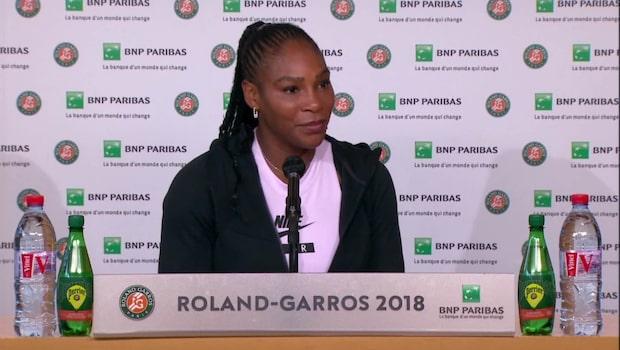 Serena förklarar dräkten: Skyddar mot blodproppar