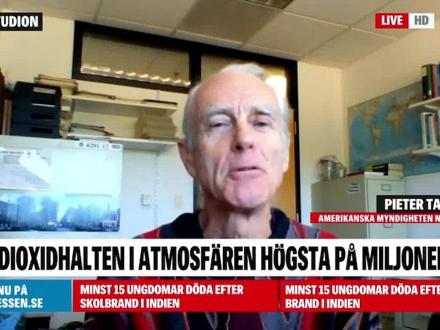 Pieter Tans: Högsta koldioxidhalten på miljontals år