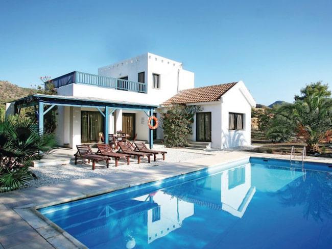 2. Argaka, Cypern  Modernt och charmigt mindre hus för upp till 4 gäster.