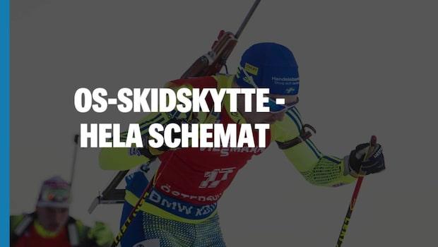 OS-Schema Skidskytte