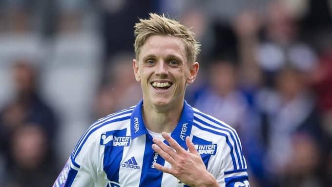 Sören Rieks blev stor hattrickhjälte – tack vare ett nobbat mångmiljonbud. Foto: Michael Erichsen
