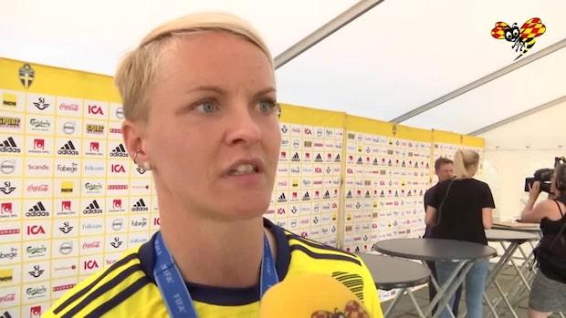 """Nilla Fischer: """"Ska inte ligga andra finaler samma dag"""""""