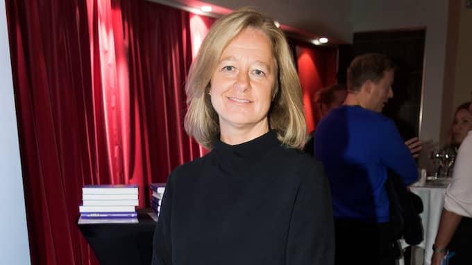 Allison Kirkby lämnar Tele 2 när sammanslagningen med Comhem är genomförd. Foto: OLLE SPORRONG
