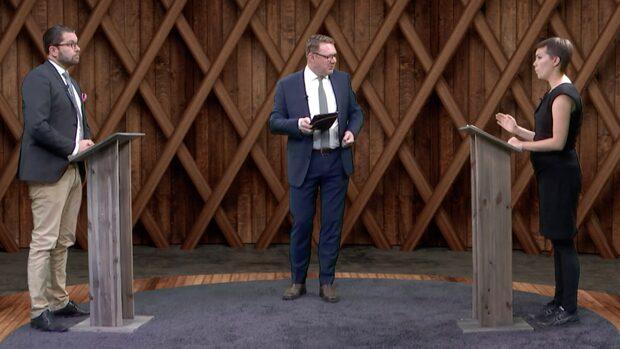 Se hela migrationsdebatten mellan Åkesson och Hirvonen