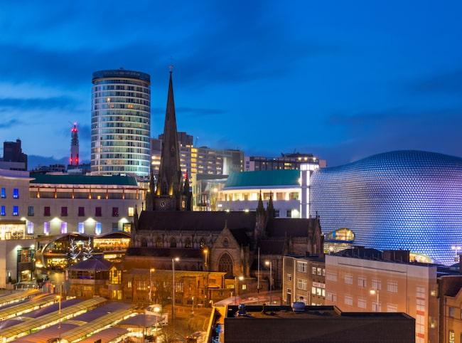 Birmingham och Göteborg påminner om varandra väldigt mycket till karaktären.