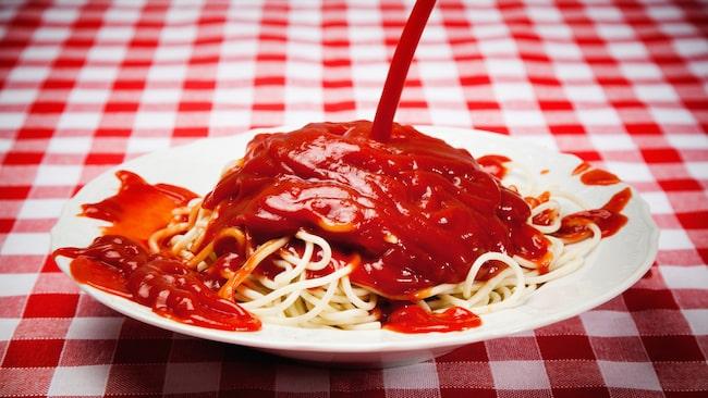 Svenskar är besatta av ketchup, menar undersökningen.