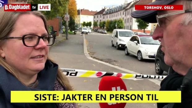"""Vittne på plats: """"Ringde rektorn och bad de hålla barnen inne"""""""
