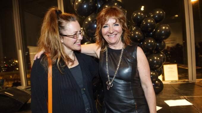 Anna Eklund-Tarantino och Malou von Sivers på Expressens kulturfest. Foto: Emil Nordin