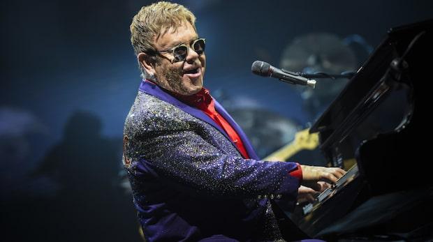 Elton John svårt sjuk