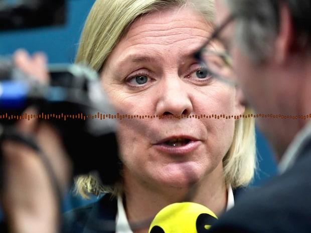 """Finansministern om bensinpriset: """"Beror inte på skattehöjningar"""""""