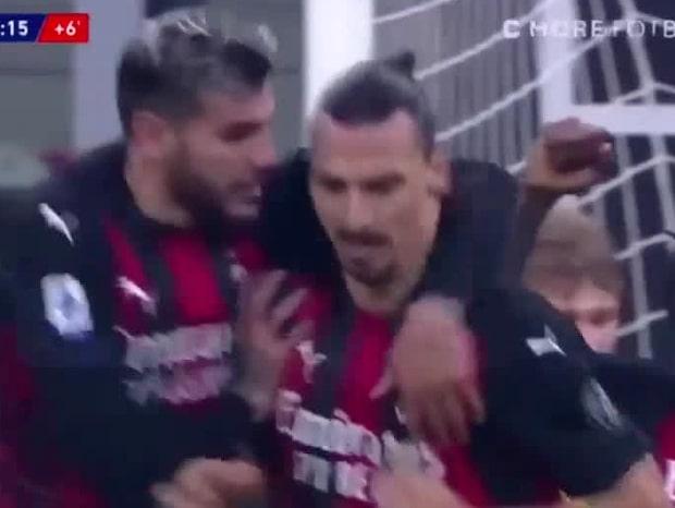 Zlatan räddar Milan med historiskt mål