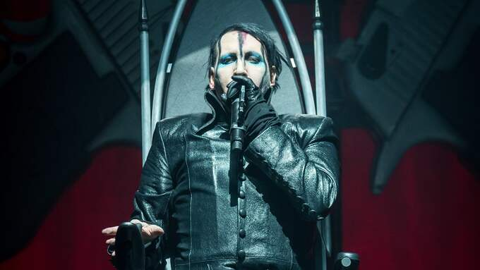 Marilyn Manson i Stockholm. Foto: (C) PELLE T NILSSON / (C) PELLE T NILSSON/STELLA PICTU STELLA PICTURES