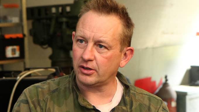 Peter Madsen höll under rättegångens första dag fast vid sin förklaring att Kim Wall avlidit till följd av en olycka på ubåten. Foto: DEADLINE PRESS