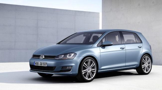 Volkswagen Golf tog hem en överlägsen seger.