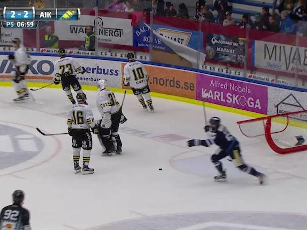 Karlskoga klart för SHL-kval efter drama mot AIK