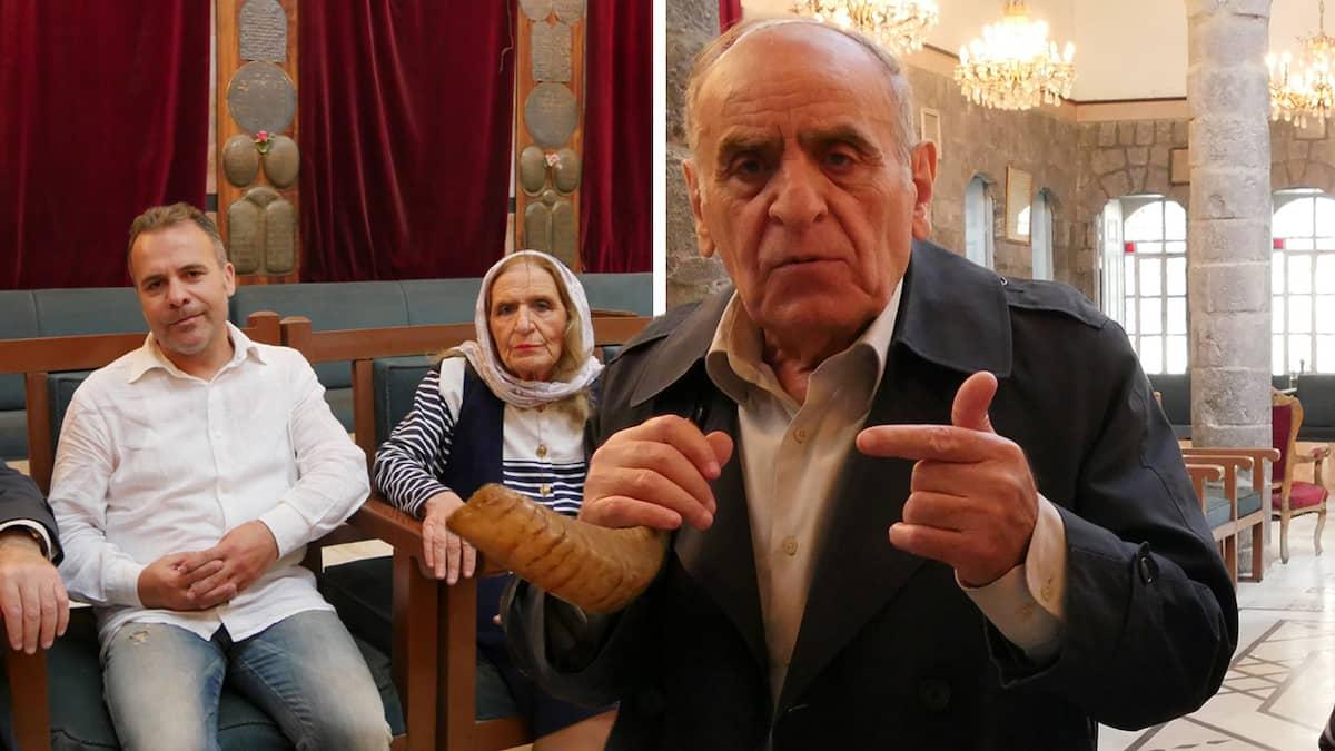 Syriens sista judar – syskonen vaktar synagogan i Damaskus