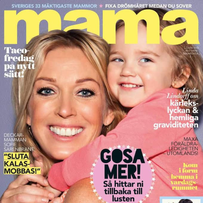 Hela artikeln finns att läsa i Mama nummer 5 som kommer i butik 16 april. Klicka vidare för att se några av de mäktigaste mammorna. Ordningen har ingen betydelse.