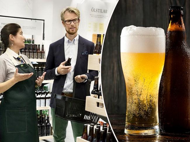 Här är de öl-märken som sålde bäst på Systembolaget under 2017 räknat i antal liter.