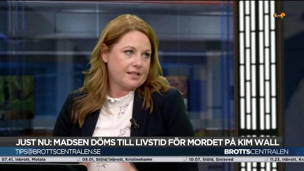 Johanna Björkman: Svårare för rätten om Madsen varit tyst