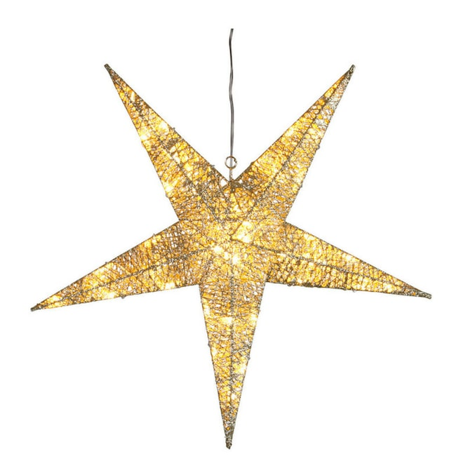 Lys upp i mörkret med Golden julstjärna från Star Trading, 585 kronor. Klicka på plustecknet i bilden för att lägga direkt i din varukorg. Välkommen till LEVA&BO Shopping!