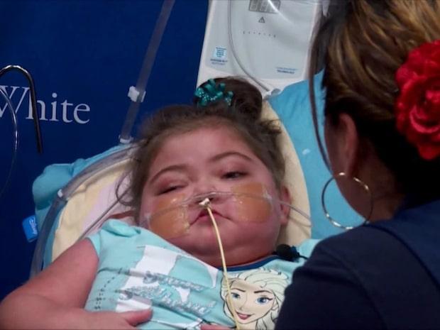 Här vaknar flickan upp ur koma - efter 27 dagar