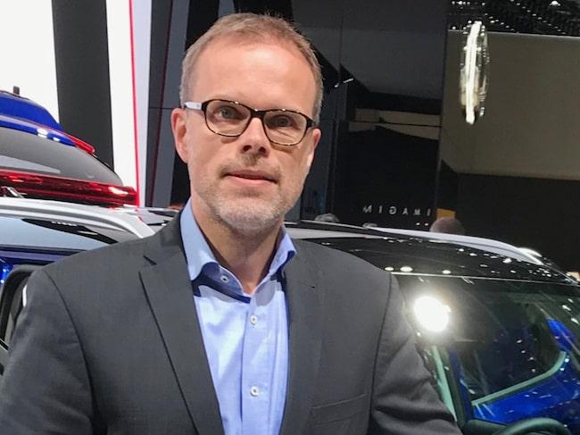 Kias och Hyundais chef för utveckling av nya drivlinor, Michael Winkler.