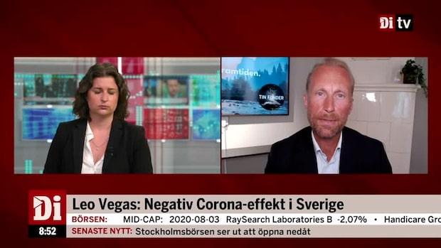 Sprinchorn om LeoVegas: Tydligt att det kommer bli volatilt