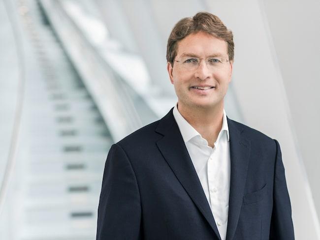 Mercedes utvecklingschef Ola Källenius.