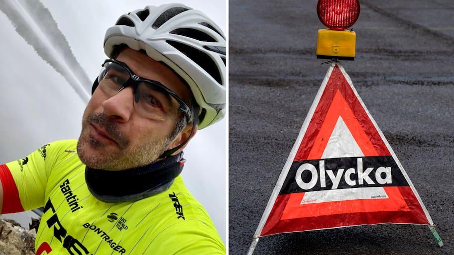 """Andreas cykelilska – """"Det är livsfarligt"""""""